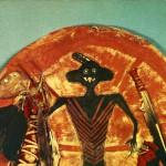 Native American Moon Shield
