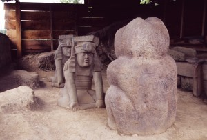 Olmec Twins & Jaguar